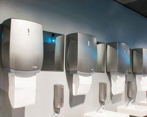 Käsipyyheautomaatit