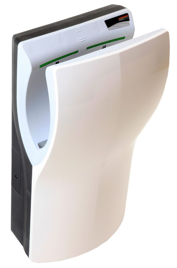 Mediclinics DualFlow plus käsienkuivain valkoinen